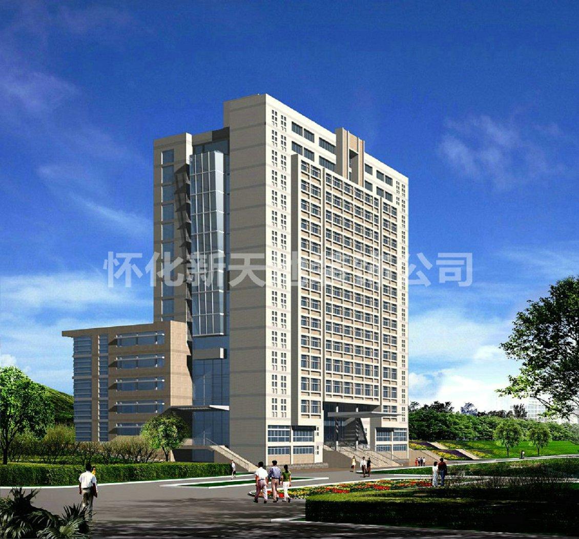 龙8国际备用网站医专综合楼装修